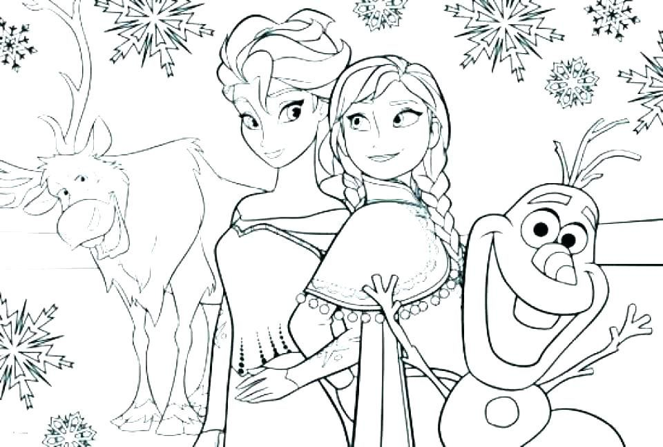 Printable Frozen Coloring Pages Ideas For Kids Activities ...