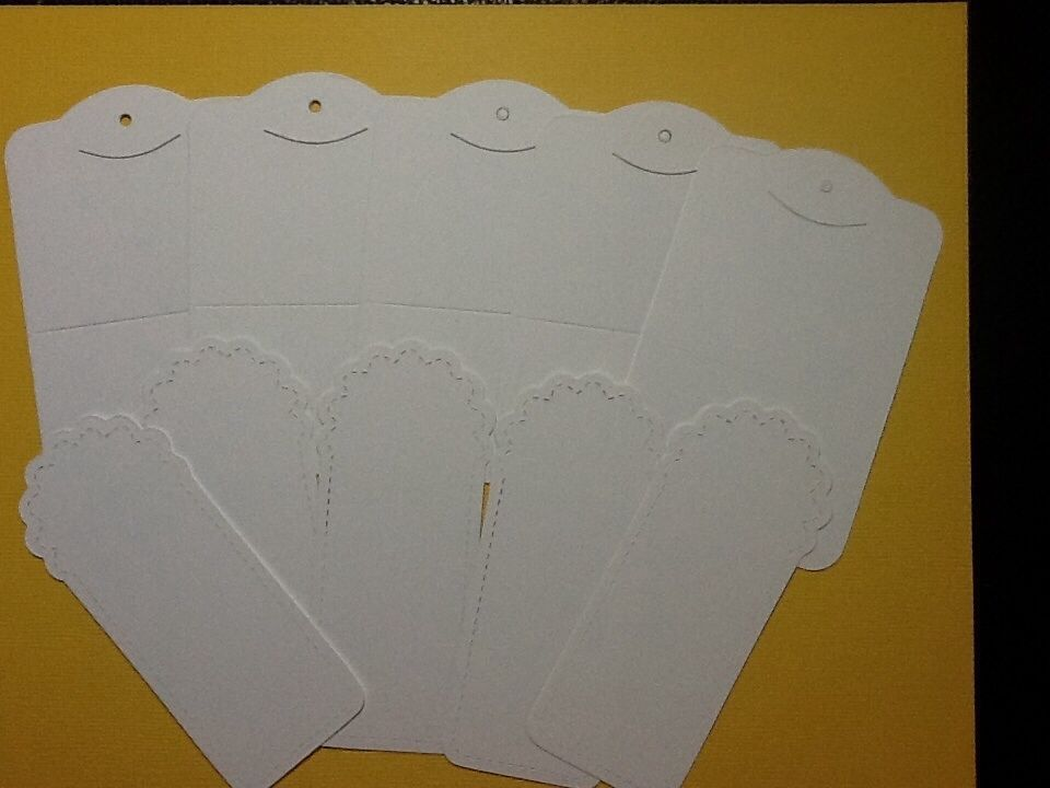 Stampin! Up. Two Tag Pre-Cut 10 Tags on 110lbs White Card Stock