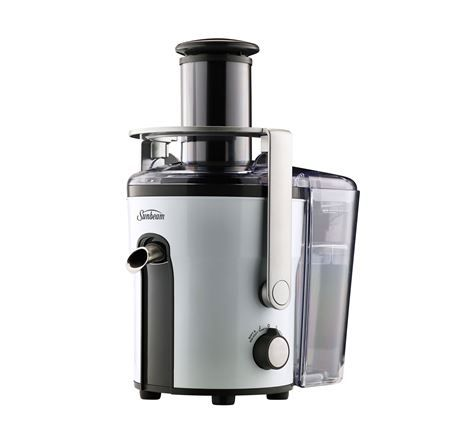 JE5600 Double Sieve Juicer Extract maximum juice and maintains nutrients from fruit and vegetables