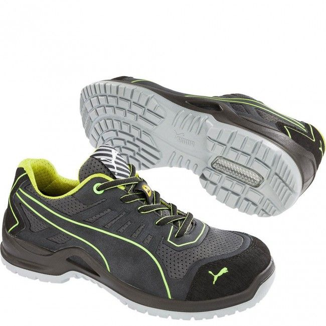 Puma Safety Footwear Womens/Ladies Fuse TC Low S1P Safety Shoes ZPnjMUJ
