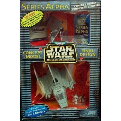 Star Wars DISPLAY STAND for Alpha Series Action Fleet /& Concept Imperial Shuttle