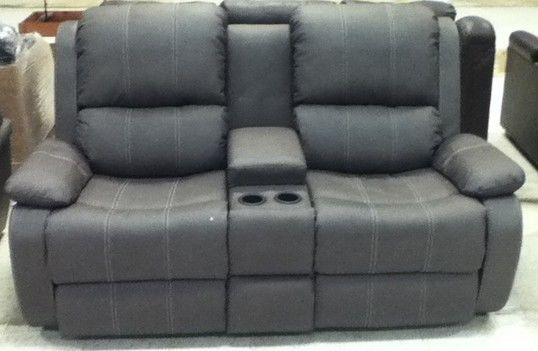 RV Furniture Leather Dual Recliner72  Wide New RV Travel Trailer sofa recliner & RV Furniture Leather Dual Recliner72