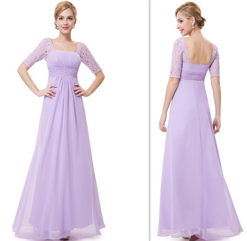 lilac wedding dress guest