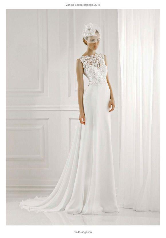 Profesjonalne Salony Slubne Za Studiem Stylizacji Sposabella 1445 Angelina Wedding Dresses Dresses Formal Dresses