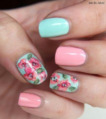 Super spring nails, for a big color inspiration
