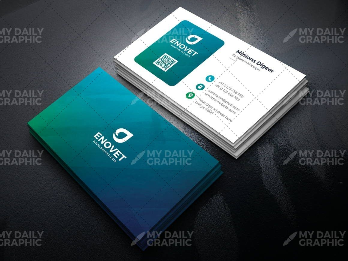 Ombre Shades Business Card Template Graphic Design Templates Business Card Template Business Cards Graphic Design Templates