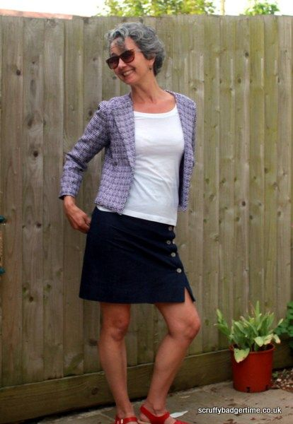 Bouclé Casual Jacket (New Look Sewing Pattern 6351) - By Scruffy ...