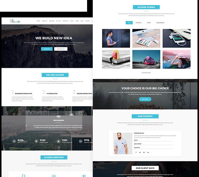Accede Digital Agency Wordpress Theme Wordpress Theme Wordpress Best Wordpress Themes