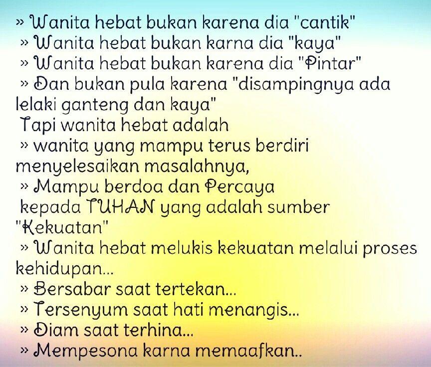 Pin oleh Ainin Parid di Islam itu indah) Motivasi, Kata