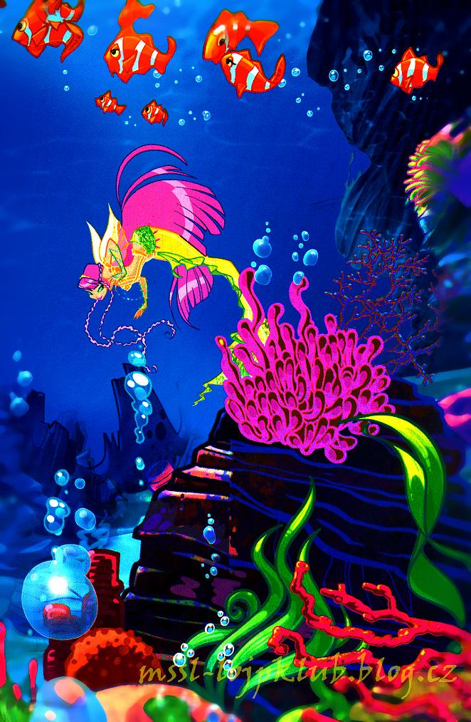 winx club as mermaids | Mermaid Winx