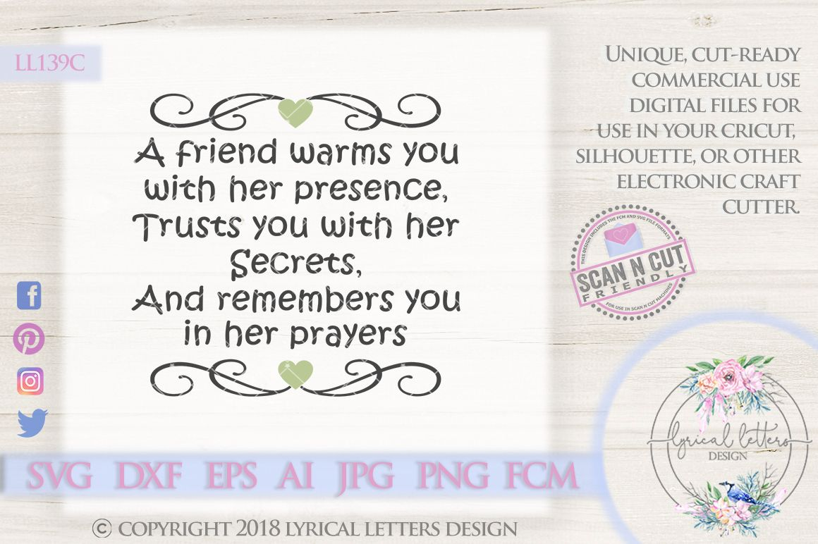 Lyrical Letters Design Cut Files For Silhouette Cricut And Other Cutters