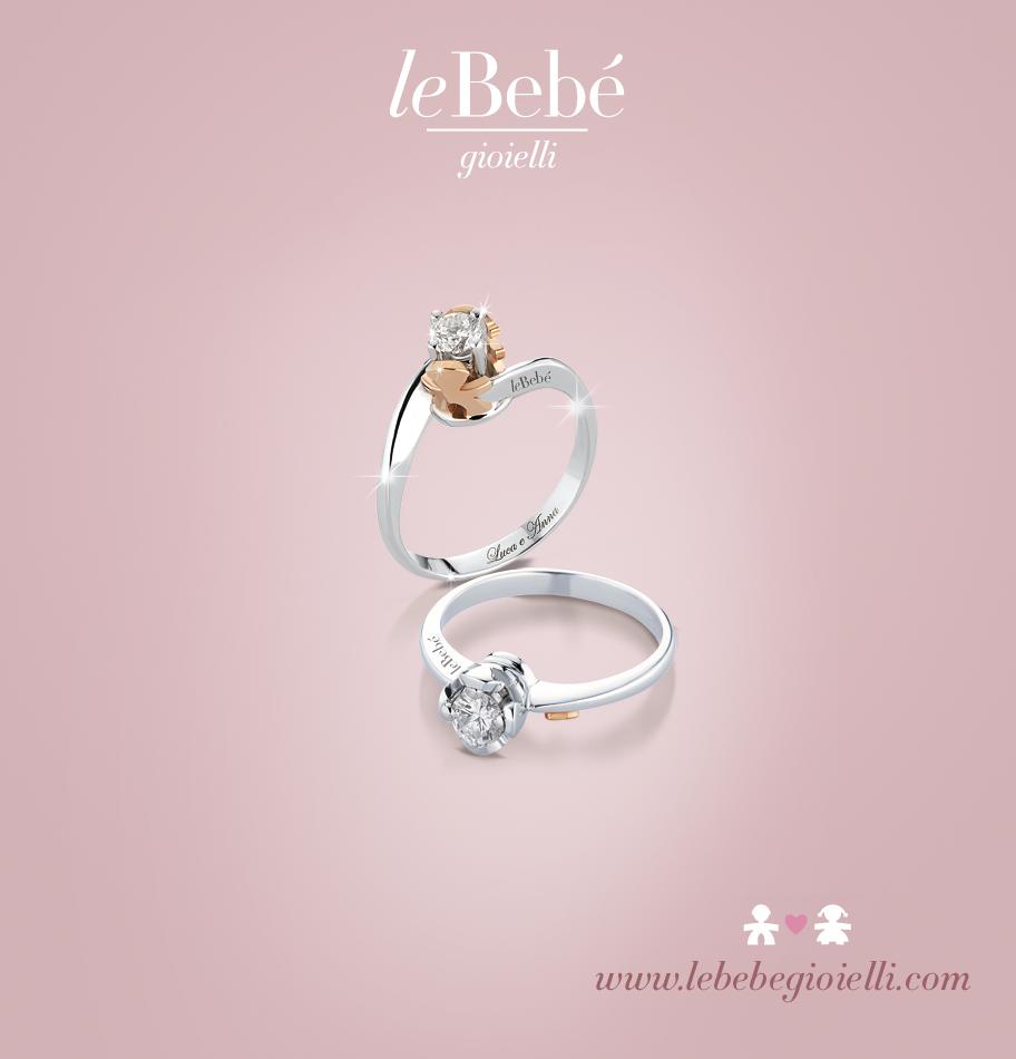 Un dono prezioso come l'amore...i Solitari LeBebé, scoprili tutti su www.lebebegioielli.com #mamme #lebebe #gioielli