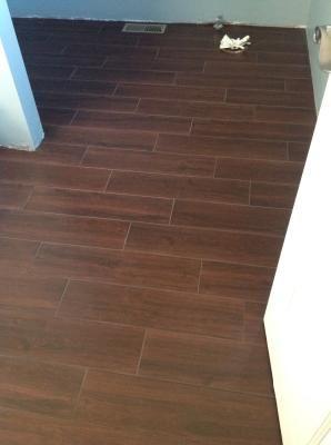 uploaded photo | porcelain flooring, wood look tile, tile