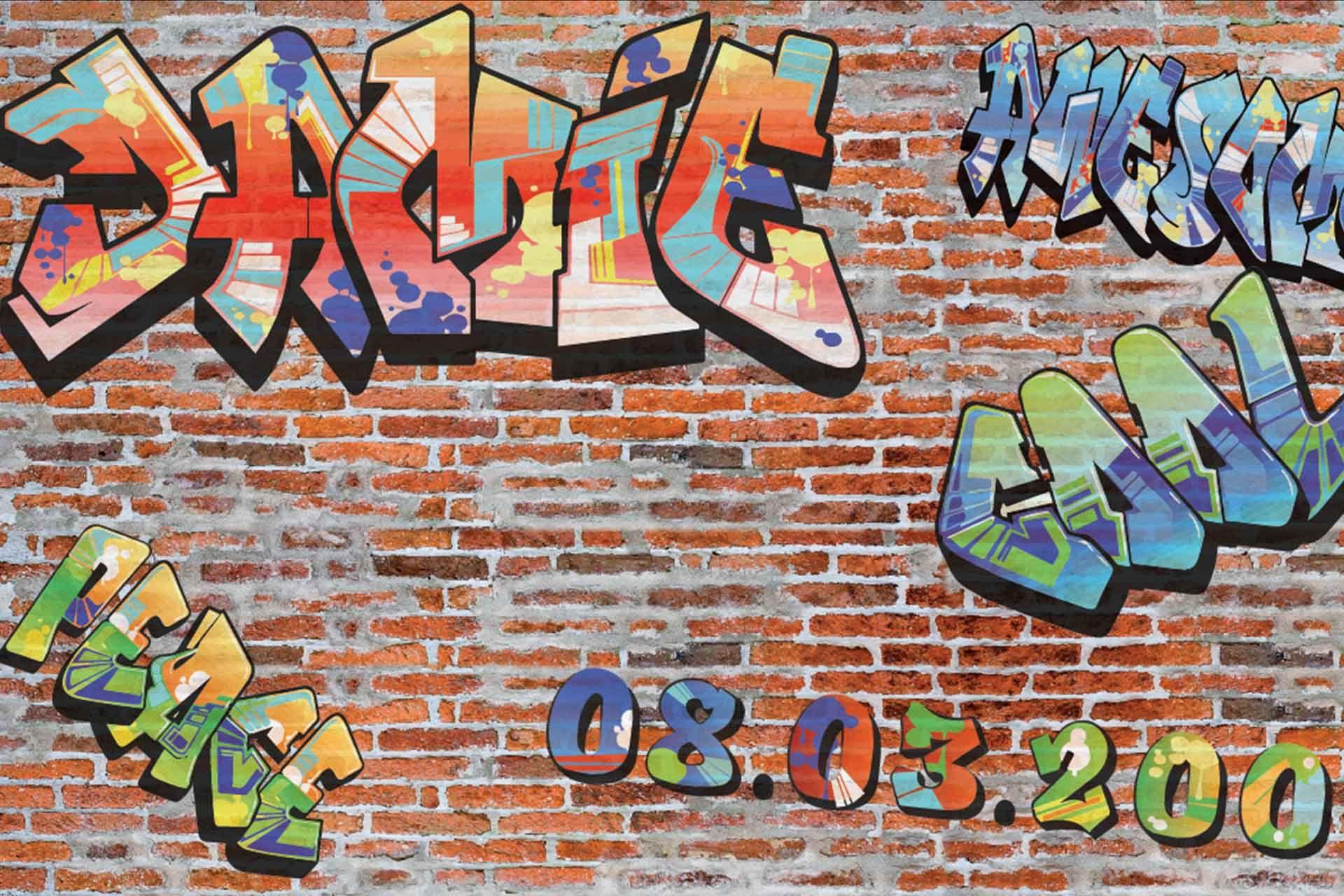 Gambar Tulisan Grafiti Nama Yudi