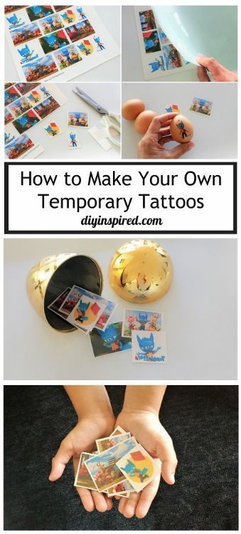 Photo of How to Make Your Own Temporary Tattoos – DIY Inspired