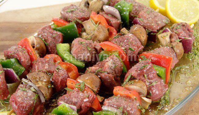 اشهى 6 تتبيلات للمشاوي على الفحم مدونة شهية Steak Kebabs Food How To Make Steak