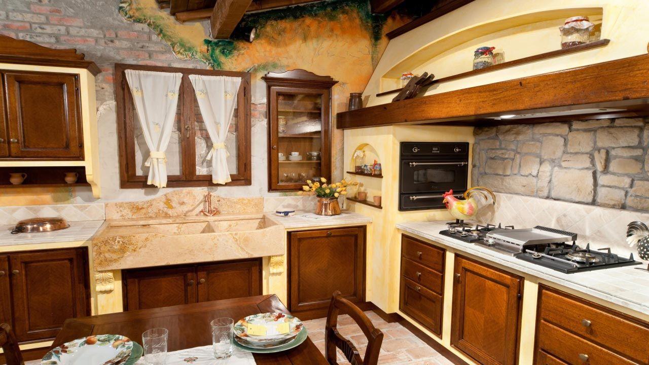 Cucina la capanna cucina rustica il borgo antico cucina - Cucine in muratura rustica ...