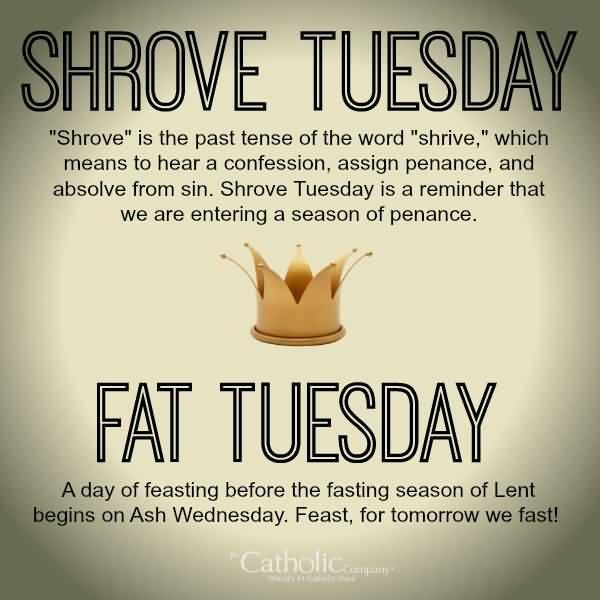 Shrove Tuesday Funny Quotes Shrove Tuesday Shrove Tuesday Quotes Holy Tuesday