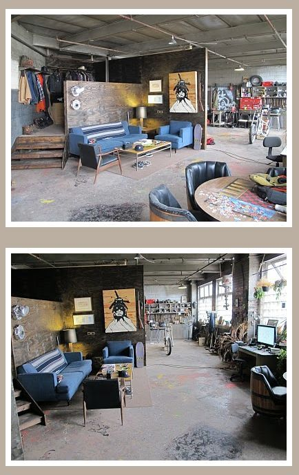 garage on one side man cave relaxing area on the other on extraordinary affordable man cave garages ideas plan your dream garage id=18299