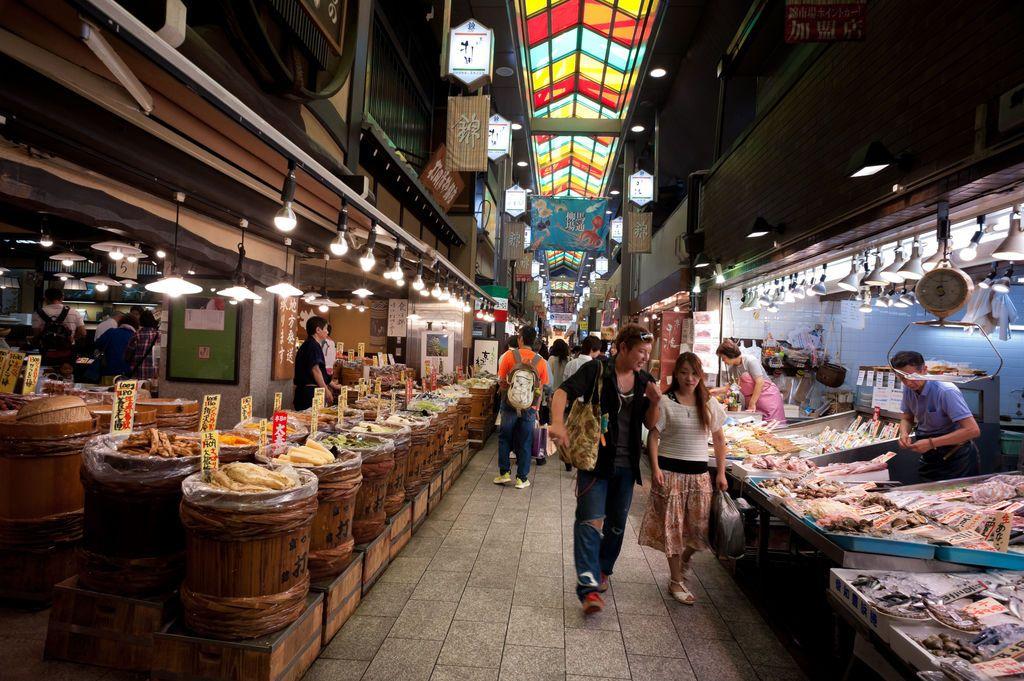 "Nishiki Market (known as ""Kyoto's Kitchen"") #odigo #japantravel"