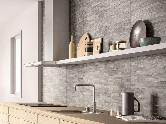 Rivestimento cucina effetto cemento minimal arkistar pavimenti e rivestimenti nel 2019 - Idee rivestimento cucina ...