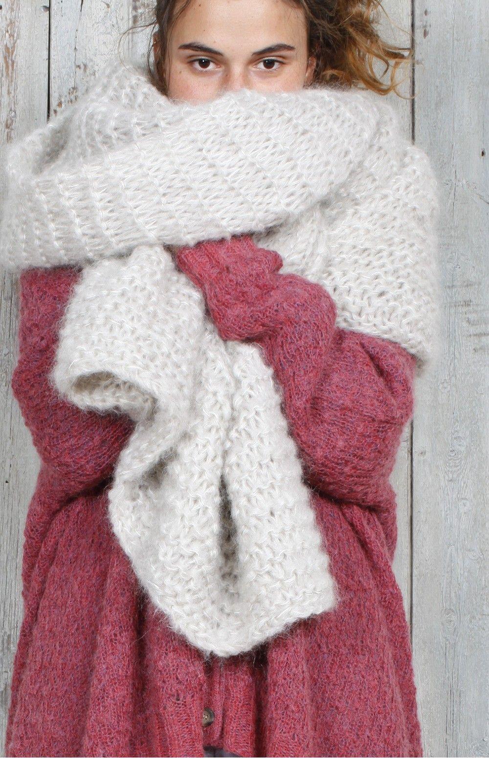 maille cheerleader i 39 m knitting pinterest echarpe tricot et laine. Black Bedroom Furniture Sets. Home Design Ideas