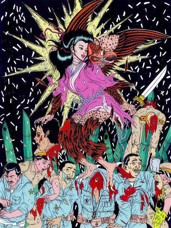 ARTIST: Tina Lugo - Ero-Guro Nightmares via: #Yellowmenace | #eroguro #shockart #AsianInspired http://yellowmenace.tumblr.com/tagged/Asian%20inspired