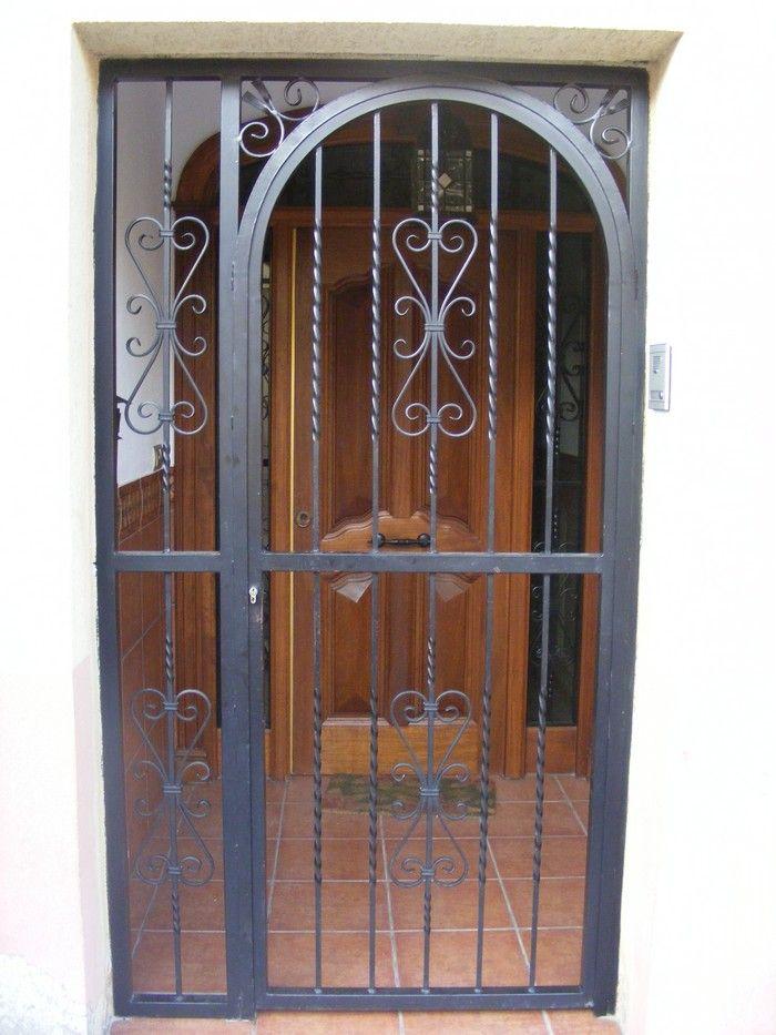 Cancelas de hierro cancelas pinterest hierro ornamentacion y soldadura - Cancelas de hierro ...