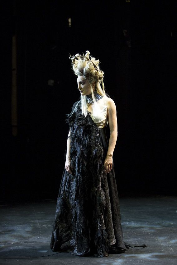 The Making of Hecate's Dress | Macbeth-costume inspiration