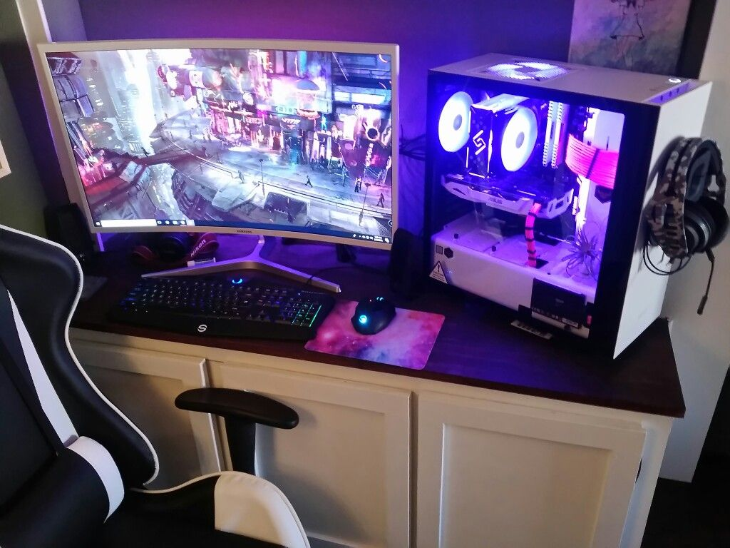 My Beautiful New Rgb Pc Build Nzxt S340 Elite Case Deepcool Telephone Line Wiring Group Picture Image By Tag Keywordpictures Fans And Cpu Cooler Its Freaking Black White Pink Theme