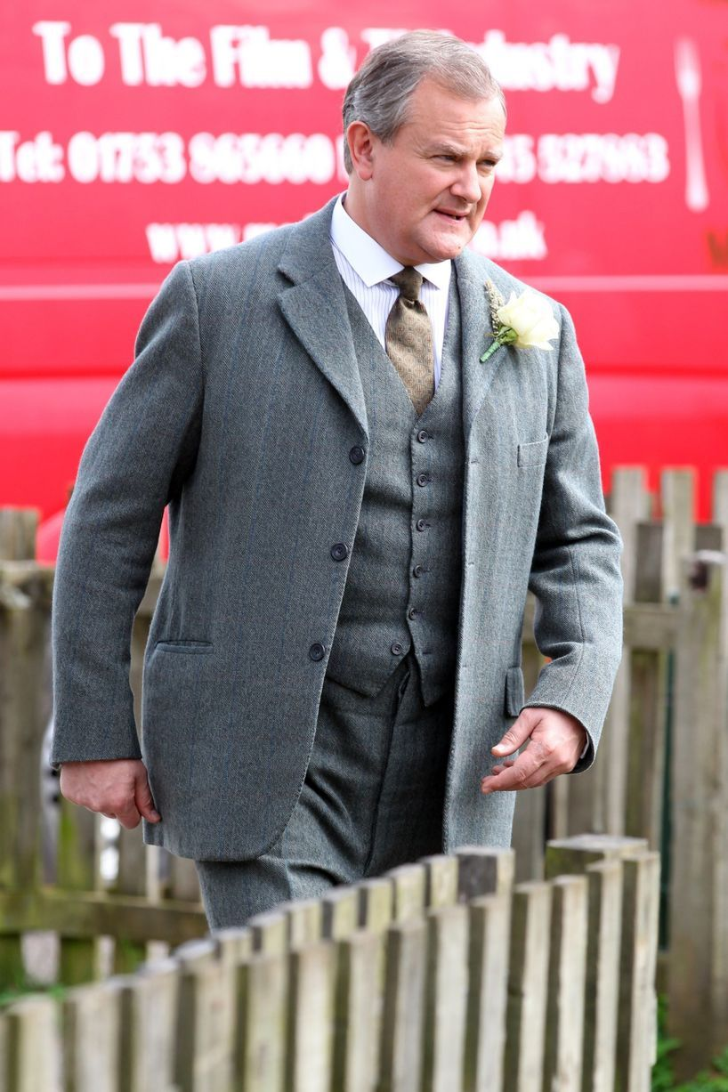 Downton Abbey spoilers: Series 6 will see Mr Carson and Mrs Hughes wed and guests look splendid - Mirror Online..