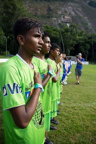 Football Is More Than Just A Game For Us Says 15 Year Old Raziq Mushtaq Who Scored 8 Goals For Pakistan In The 13 0 Win O Street Kids Just A Game World Cup