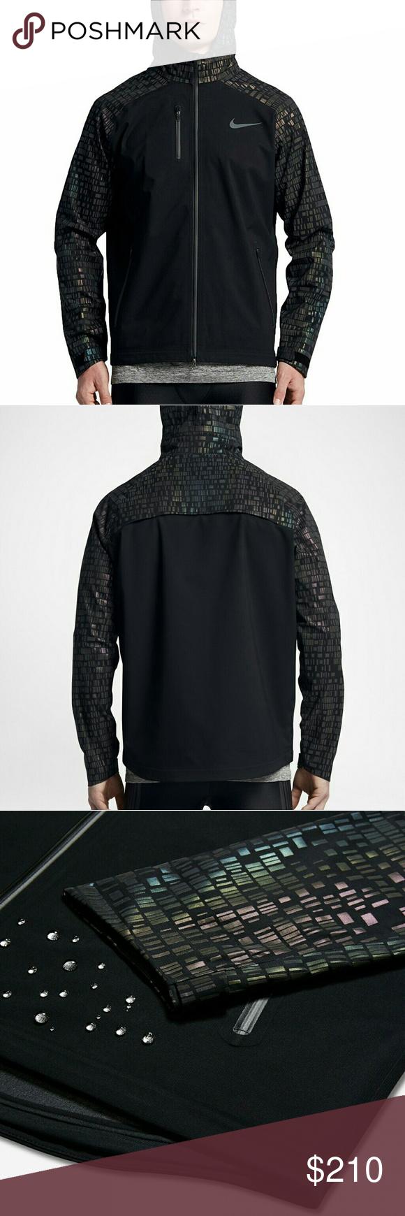 NIKE HYPERSHIELD FLASH Running Jacket 800903 010 Size Xl New