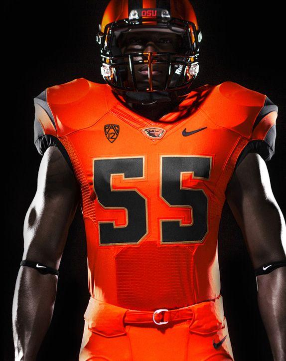 Oregon State Athletics Logo Identity And Uniforms Football Uniforms College Football Uniforms Indiana Football