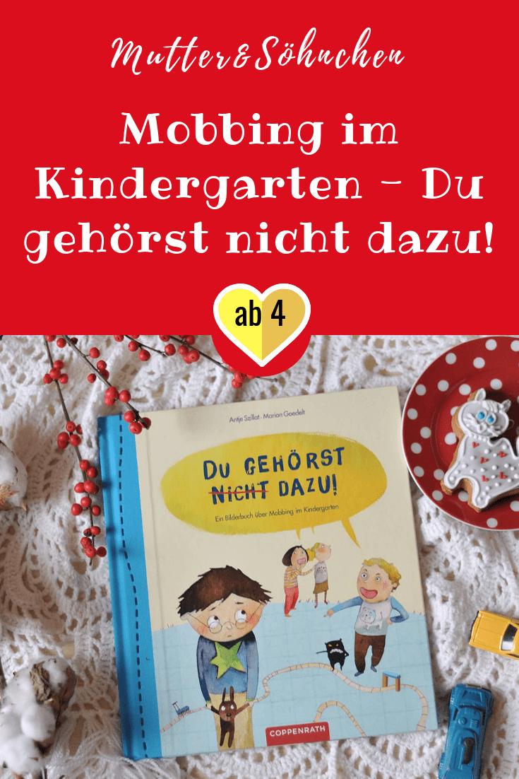 Buchermontag Mobbing Im Kindergarten Du Gehorst Nicht Dazu Kindergarten Books Peace Love