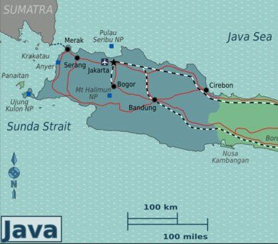 West Java Indonesia Map Beautiful Indonesia for an adventure holiday