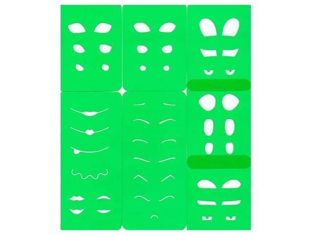 Moldes para pintar ojos de fofuchas para imprimir - Imagui ...