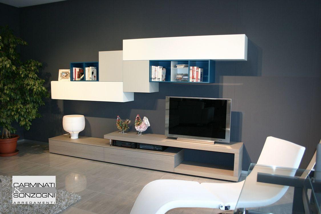 mobili per soggiorno moderno milano - Cerca con Google | tv salotto ...