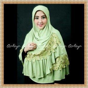 Jilbab Bergo Jumbo Cantik Modis Terbaru Qisya By Qalisya Kerudung