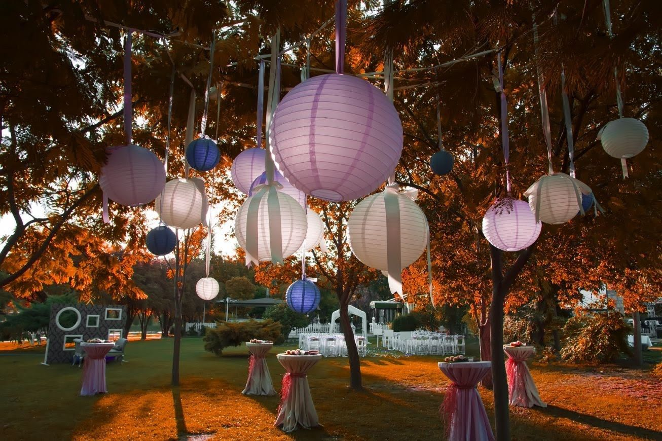 garden party decorations youtube