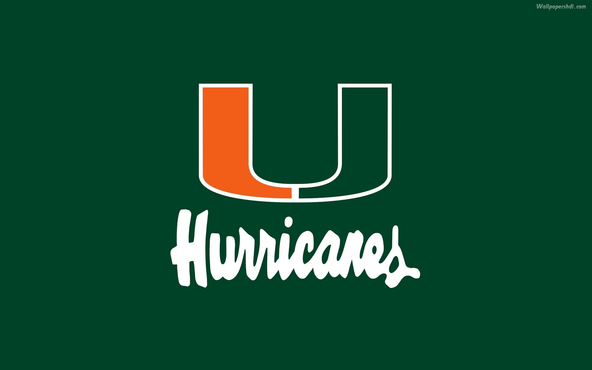 Miami Hurricanes Football Wallpaper