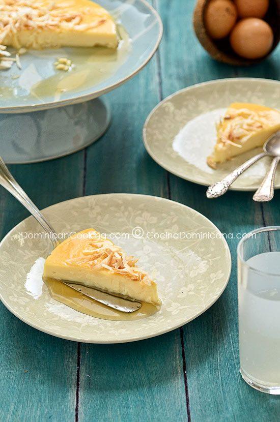 Quesillo (Coconut caramel cream)