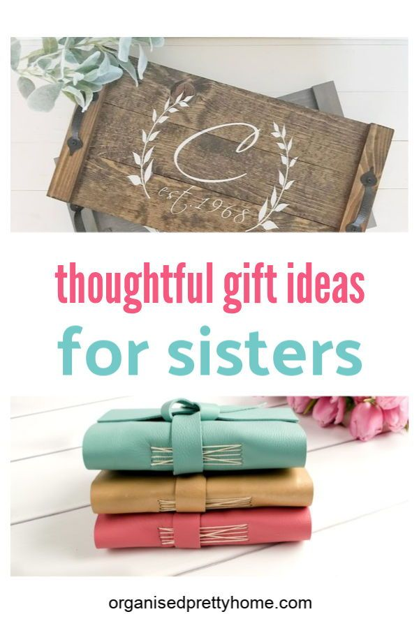 12 Best Gifts for Your Sister or Sister-in-Law #giftsforsister