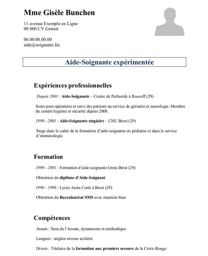 Exemple D Un Cv Campus France: Épinglé Par ZOIBA Wahabou Sur CV Infirmiers