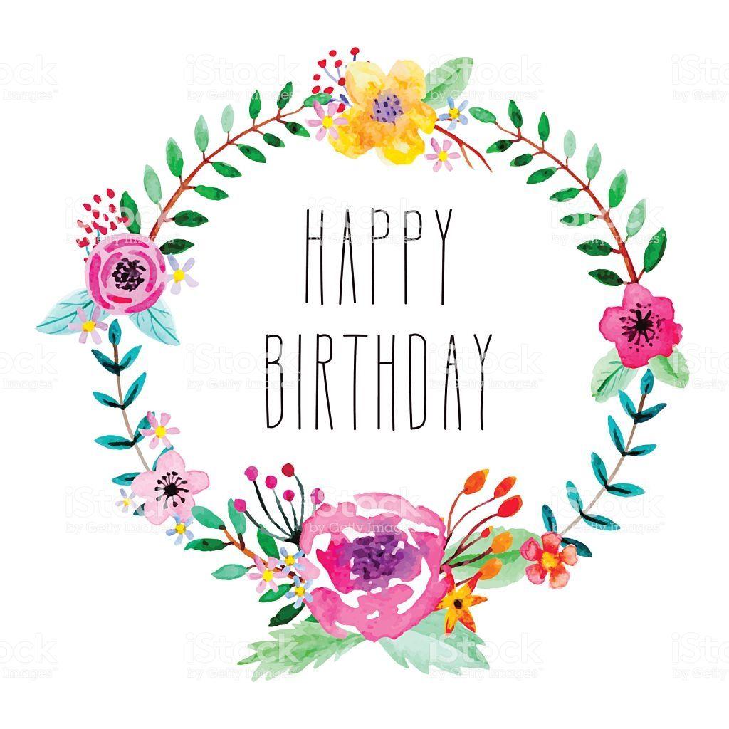 無料の印刷用ぬりえページ 印刷可能無料 バースデーカード 無料素材 Happy Birthday Birthday Illustration