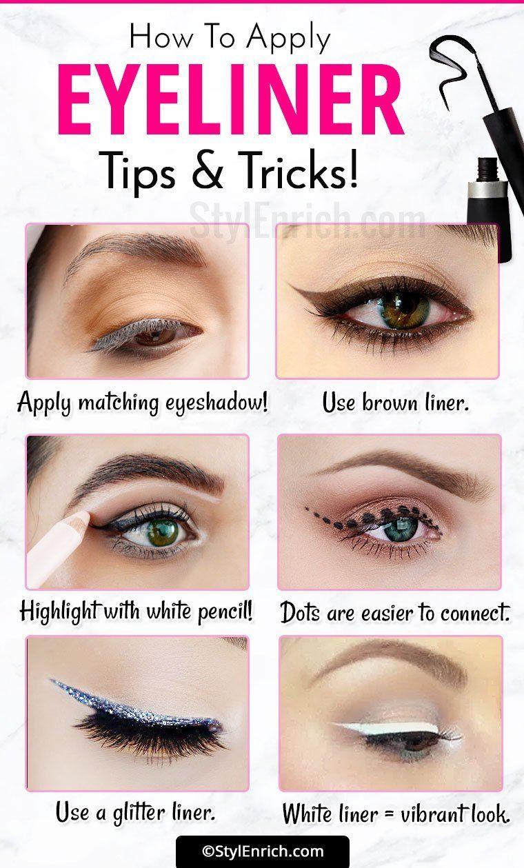 Eyeliner Tricks : How To Apply Eyeliner Correct Way
