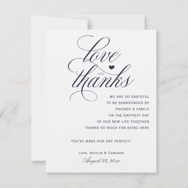 create your own flat thank you card  zazzle  wedding
