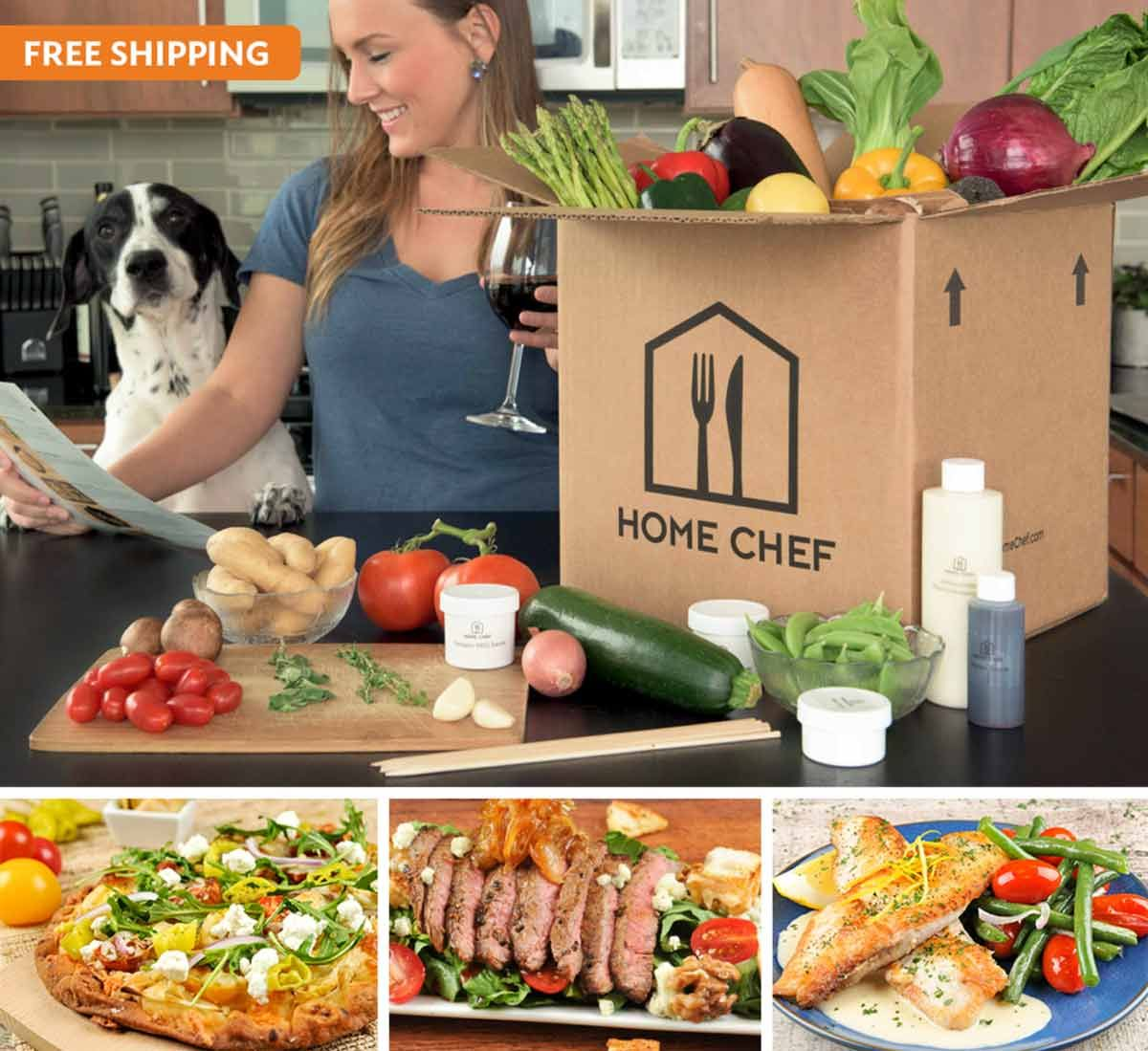 Weekly Meal Delivery Service Chef Prepared Recipes Fresh