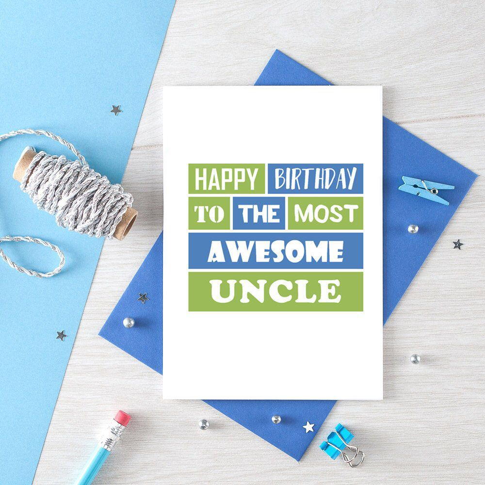 Birthday Card For Uncle From Niece