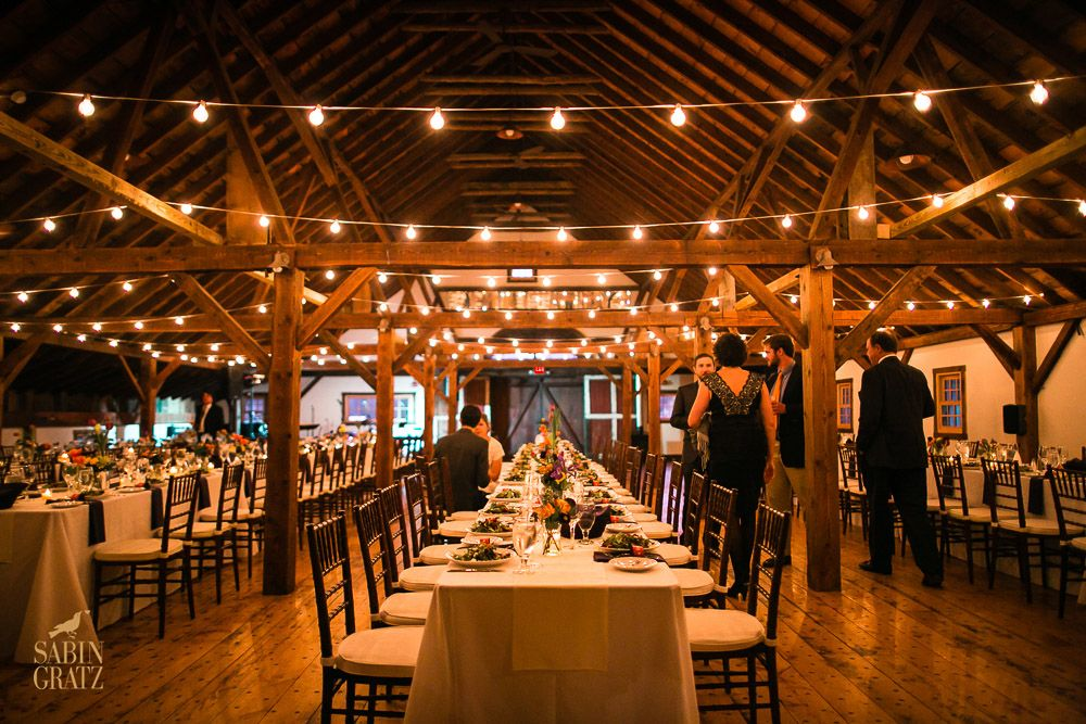 A Vermont Winter Wedding Wonderland Dinner In The Brown Barn